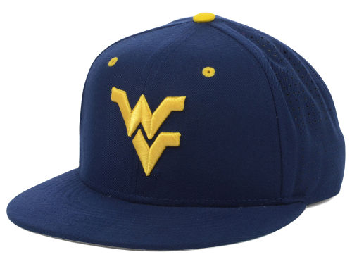 West Virginia Mountaineers Nike NCAA Authentic Vapor Fitted Cap Hats