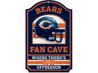 Chicago Bears Wincraft 11x17 Wood Sign Flags & Banners