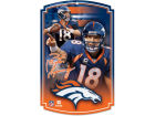Denver Broncos Wincraft 11x17 Wood Sign Flags & Banners
