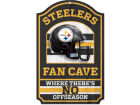 Pittsburgh Steelers Wincraft 11x17 Wood Sign Flags & Banners