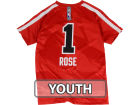 Chicago Bulls Derrick Rose adidas NBA Youth Gametime Shooter T-Shirts