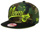 Miami Heat New Era NBA Hardwood Classics Custom Collection 9FIFTY Snapback Cap Hats