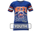 New York Mets 5th & Ocean MLB Youth Girls XOXO T-Shirt T-Shirts