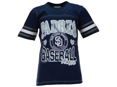 San Diego Padres MLB Youth Girls XOXO T-Shirt