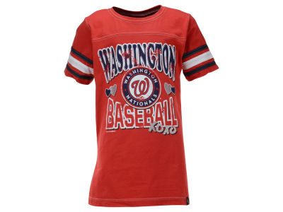 Washington Nationals MLB Youth Girls XOXO T-Shirt
