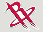 Houston Rockets Wincraft Die Cut Color Decal 8in X 8in Bumper Stickers & Decals