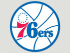 Philadelphia 76ers Wincraft Die Cut Color Decal 8in X 8in Bumper Stickers & Decals