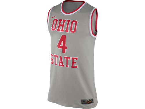 Ohio State Buckeyes Nike NCAA 2014 Authentic Tourney Basketball Jersey