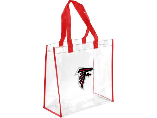 Atlanta Falcons Forever Collectibles Clear Reusable Bag