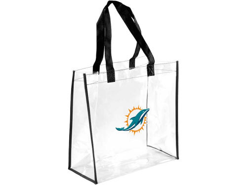 Miami Dolphins Forever Collectibles Clear Reusable Bag