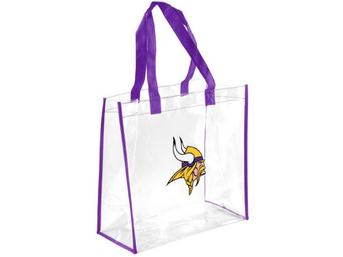 Minnesota Vikings Forever Collectibles Clear Reusable Bag