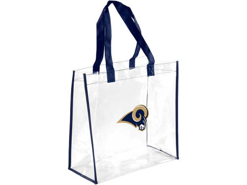 Los Angeles Rams Forever Collectibles Clear Reusable Bag