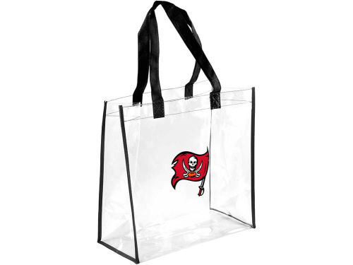 Tampa Bay Buccaneers Forever Collectibles Clear Reusable Bag