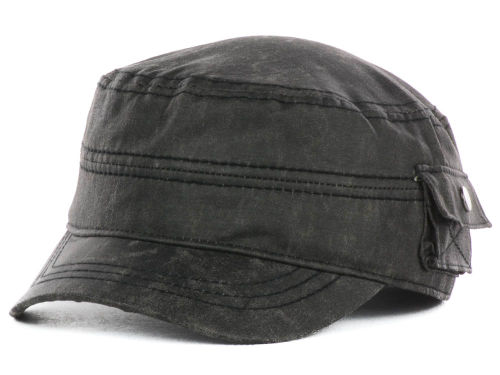 LIDS Private Label PL Oil Rubbed Military Hats