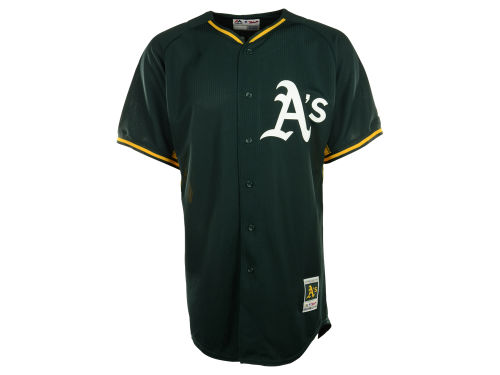 Oakland Athletics Majestic MLB Men's Cool Base Batting Practice Jersey