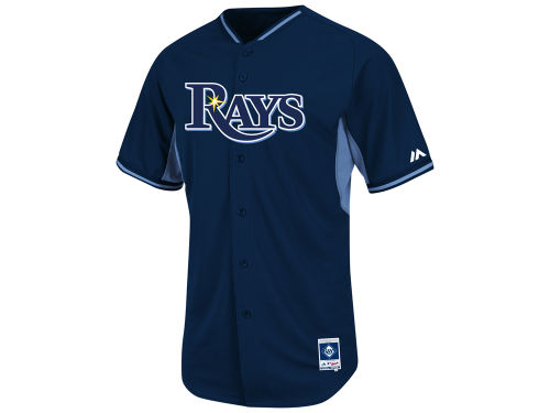 Tampa Bay Rays Majestic MLB Men's Cool Base Batting Practice Jersey