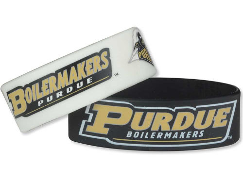 Purdue Boilermakers Aminco Inc. 2-pack Wide Bracelet