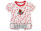 Louisville Cardinals NCAA Infant Polka Dot Girls Romper Infant Apparel