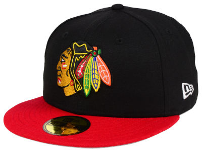 Chicago Blackhawks NHL Basic 59FIFTY Cap Hats