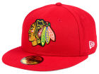 Chicago Blackhawks NHL Basic 59FIFTY Cap Fitted Hats