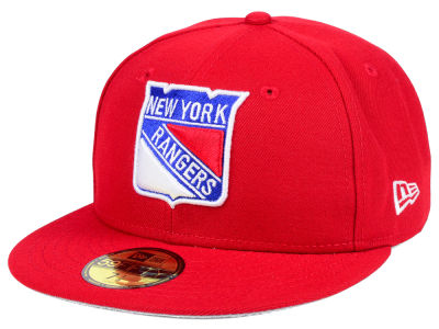 New York Rangers NHL Basic 59FIFTY Cap Hats