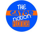 Florida Gators Legacy Fabric Fan Button Collectibles