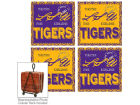 LSU Tigers Legacy 4 Inch by 4 Inch Coaster Set Collectibles
