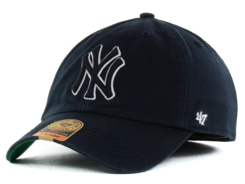 New York Yankees MLB Black Out '47 FRANCHISE Cap Hats