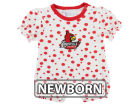 Louisville Cardinals NCAA Newborn Polka Dot Girls Romper Infant Apparel