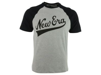 New Era Branded Short Sleeve Raglan T-Shirt