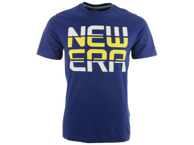 New Era Branded Lined T-Shirt
