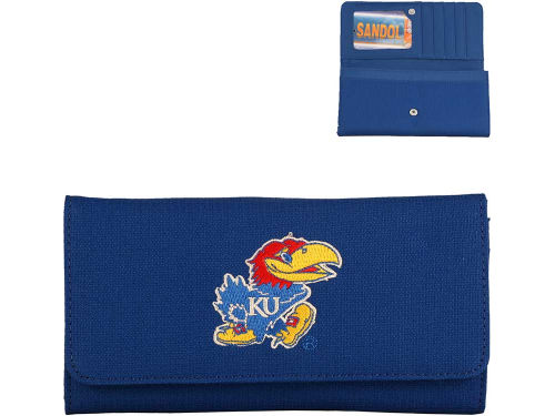 Kansas Jayhawks Poly Embroidered Wallet