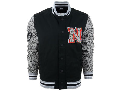 New Era Branded Elephant Varsity Jacket