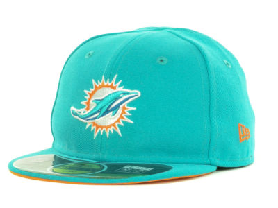 Miami Dolphins NFL Infant My First OnField 59FIFTY Cap Hats