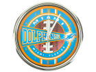 Miami Dolphins Chrome Clock Bed & Bath