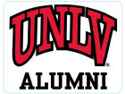 UNLV Runnin Rebels 4x4 Magnet Auto Accessories
