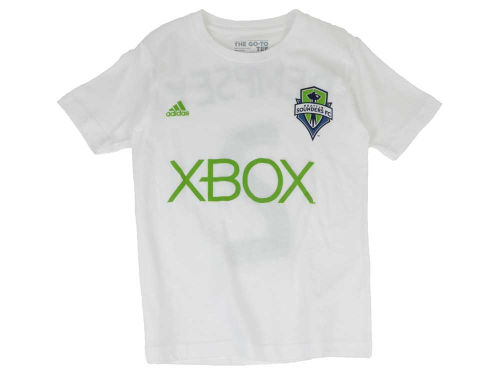 Seattle Sounders FC Clint Dempsey adidas MLS Youth Name and Number T-Shirt