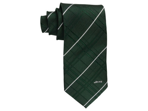 New York Jets Eagles Wings Oxford Woven Tie