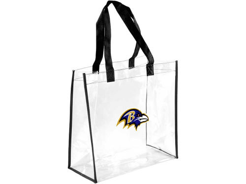 Baltimore Ravens Forever Collectibles Clear Reusable Bag