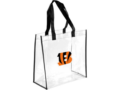 Cincinnati Bengals Forever Collectibles Clear Reusable Bag