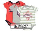 Washington Nationals Majestic MLB Infant Triple Play 3 Piece Bodysuit Set Infant Apparel