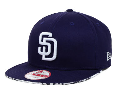 San Diego Padres MLB Cross Colors 9FIFTY Snapback Cap Hats
