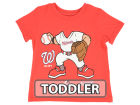 Washington Nationals Majestic MLB Toddler Pint Sized Pitcher T-Shirt T-Shirts
