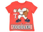 Texas Rangers Majestic MLB Toddler Pint Sized Pitcher T-Shirt T-Shirts