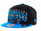 Carolina Panthers New Era NFL Black Arch 9FIFTY Snapback Cap Adjustable Hats