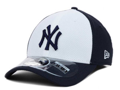 New York Yankees MLB Diamond Era White Front 39THIRTY Cap Hats