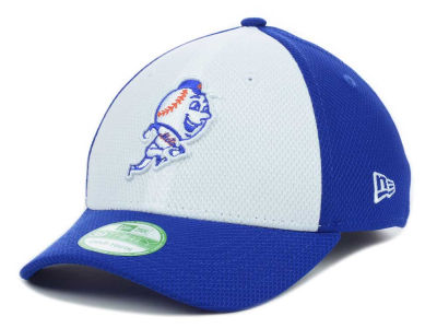 New York Mets MLB Kids Diamond Era White Front 39THIRTY Cap Hats