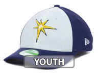 New Era MLB Kids Diamond Era White Front 39THIRTY Cap Stretch Fitted Hats
