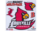 Louisville Cardinals Moveable 8x8 Decal Multipack Bumper Stickers & Decals