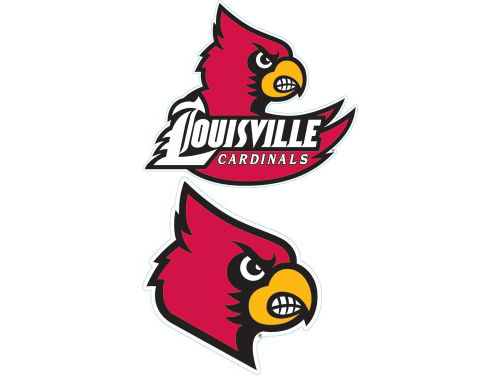 Louisville Cardinals Moveable Decal 6x12
